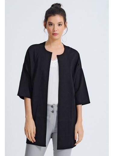 Jument Penye Kimona Ceket Siyah